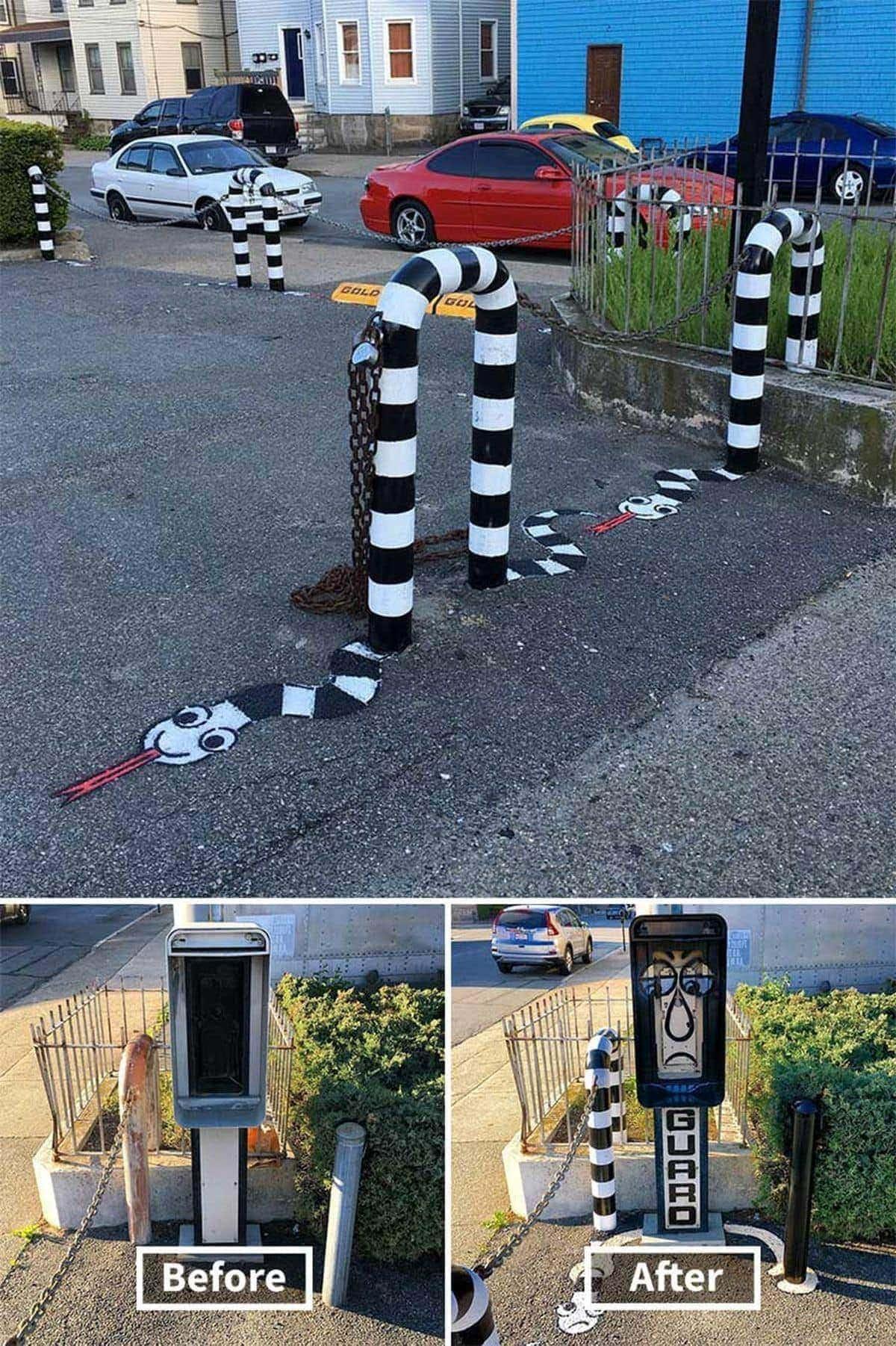 Tolle Streetart von Tom Bob | Design/Kunst | Was is hier eigentlich los?