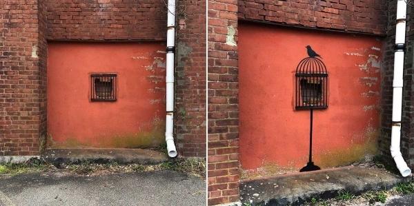 Tolle Streetart von Tom Bob | Design/Kunst | Was is hier eigentlich los? | wihel.de