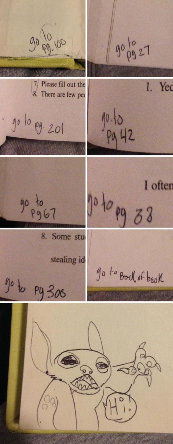 Witzige Schulbuchschmierereien | Lustiges | Was is hier eigentlich los? | wihel.de
