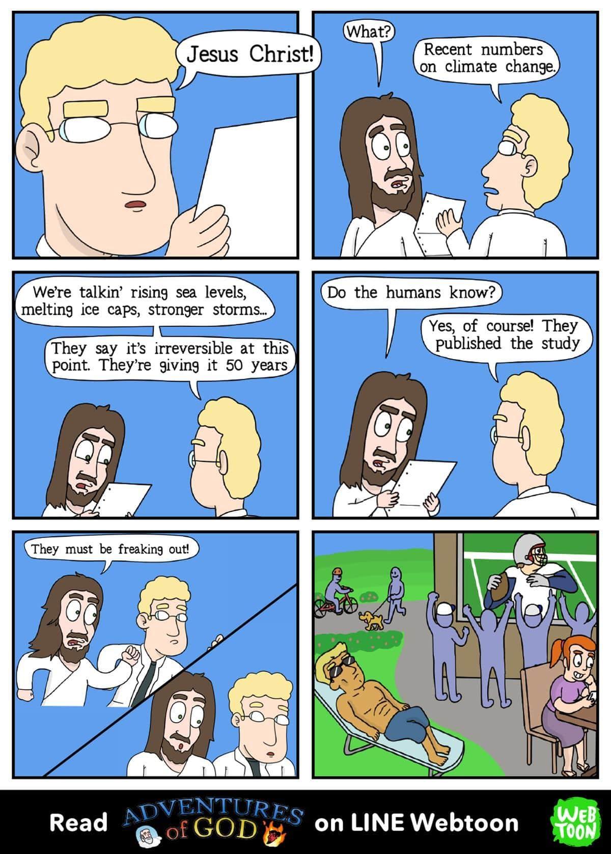 Adventures of God von Matteo Ferrazzi und Corey Jay | Lustiges | Was is hier eigentlich los?