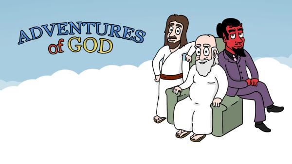 Adventures of God von Matteo Ferrazzi und Corey Jay | Lustiges | Was is hier eigentlich los? | wihel.de