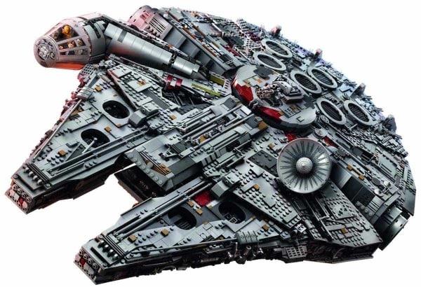 Der LEGO-Millennium-Falcon im Zeitraffer zusammengebaut | Timelapse | Was is hier eigentlich los? | wihel.de