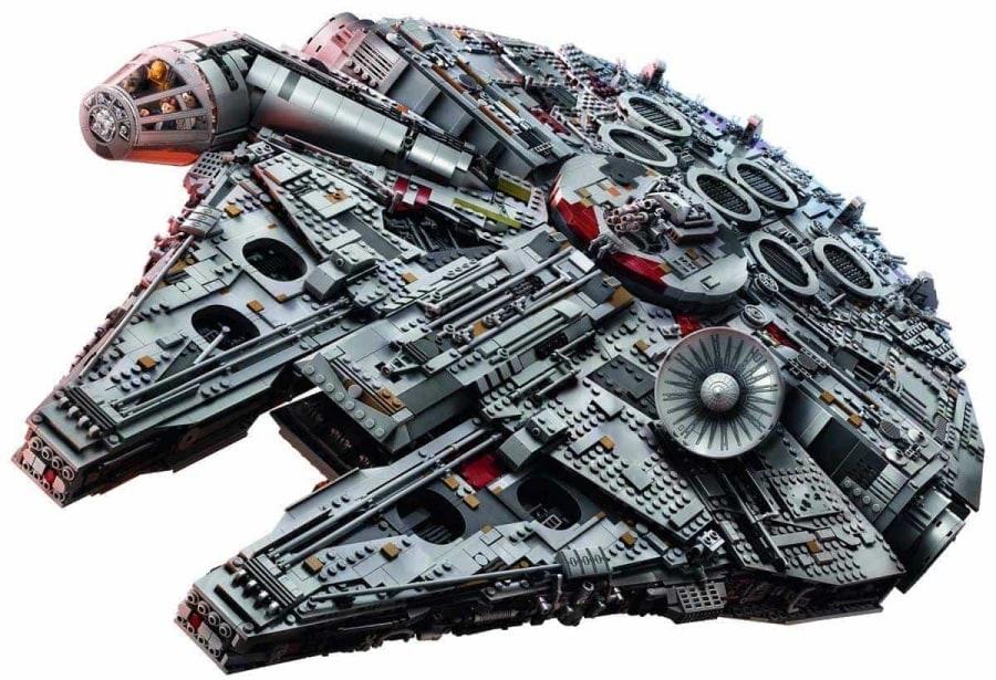 Der LEGO-Millennium-Falcon im Zeitraffer zusammengebaut | Timelapse | Was is hier eigentlich los?