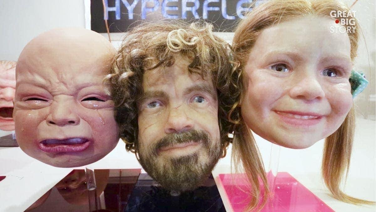 Der Mann hinter den hyperrealistischen Masken: Landon Meier | Handwerk | Was is hier eigentlich los?