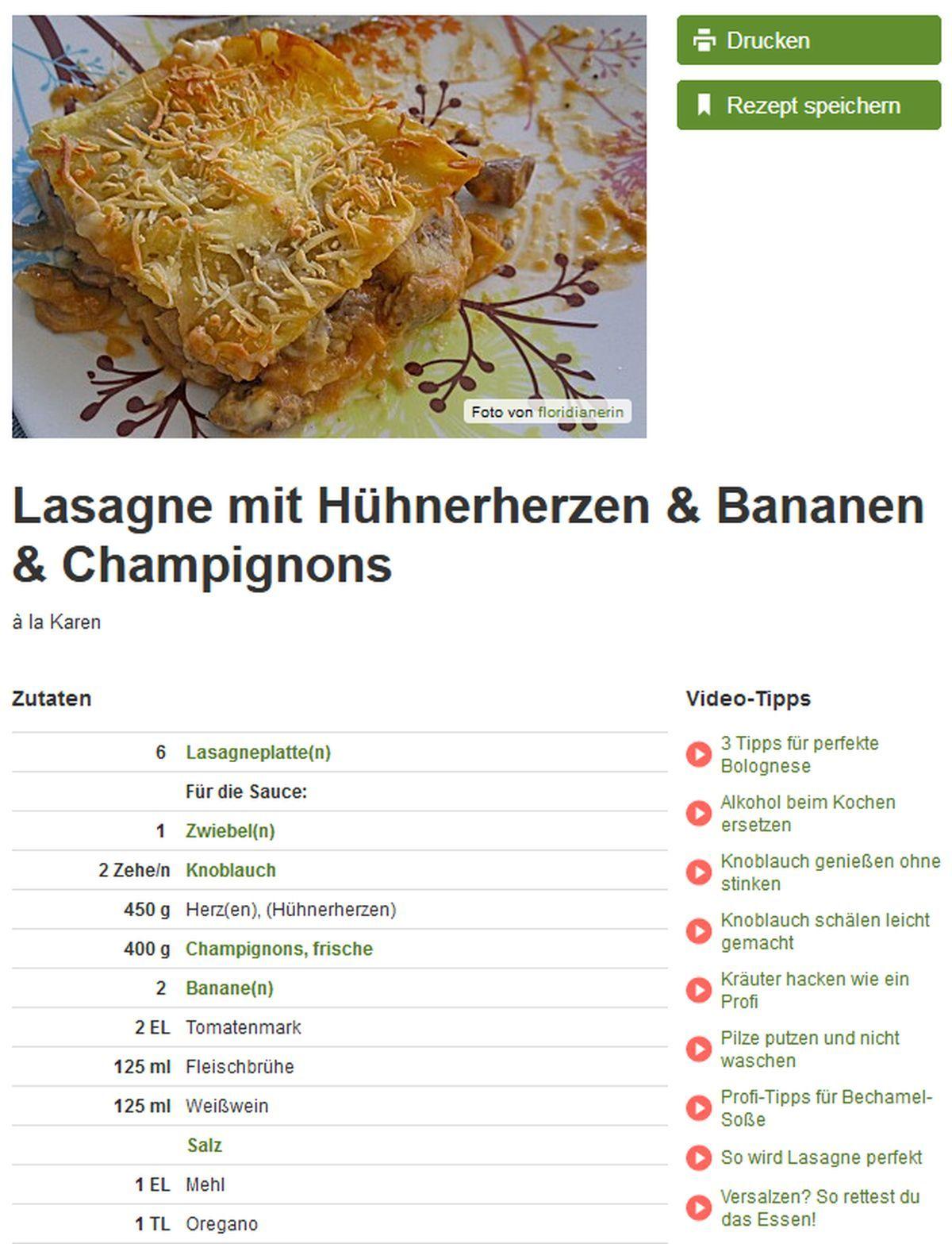 Die schlimmsten Rezepte von Chefkoch.de | Essen und Trinken | Was is hier eigentlich los?