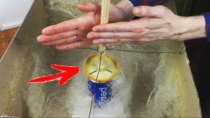 Eine selbstgebaute Zuckerwatte-Maschine | Handwerk | Was is hier eigentlich los? | wihel.de