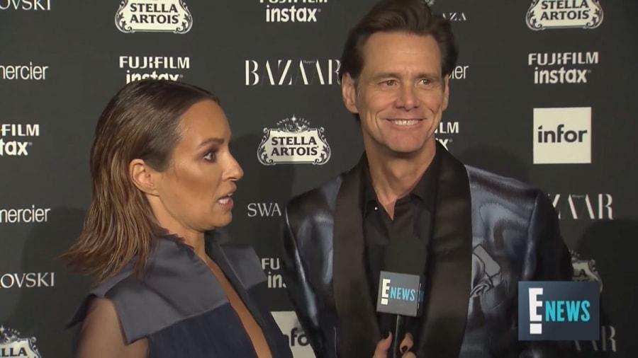 Jim Carrey bei irgendeiner Fashion Week | Lustiges | Was is hier eigentlich los?