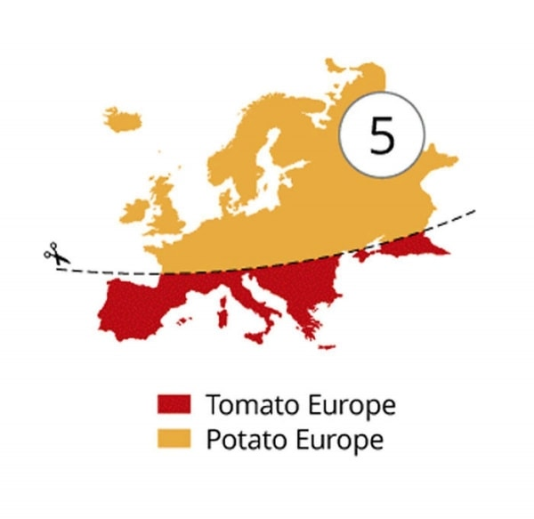 Klischee-Landkarten von Yanko Tsvetkov | Lustiges | Was is hier eigentlich los? | wihel.de