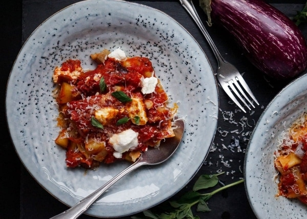 Line macht Kartoffel-Auberginen-Cannelloni mit Ricotta   Line kocht   Was is hier eigentlich los?