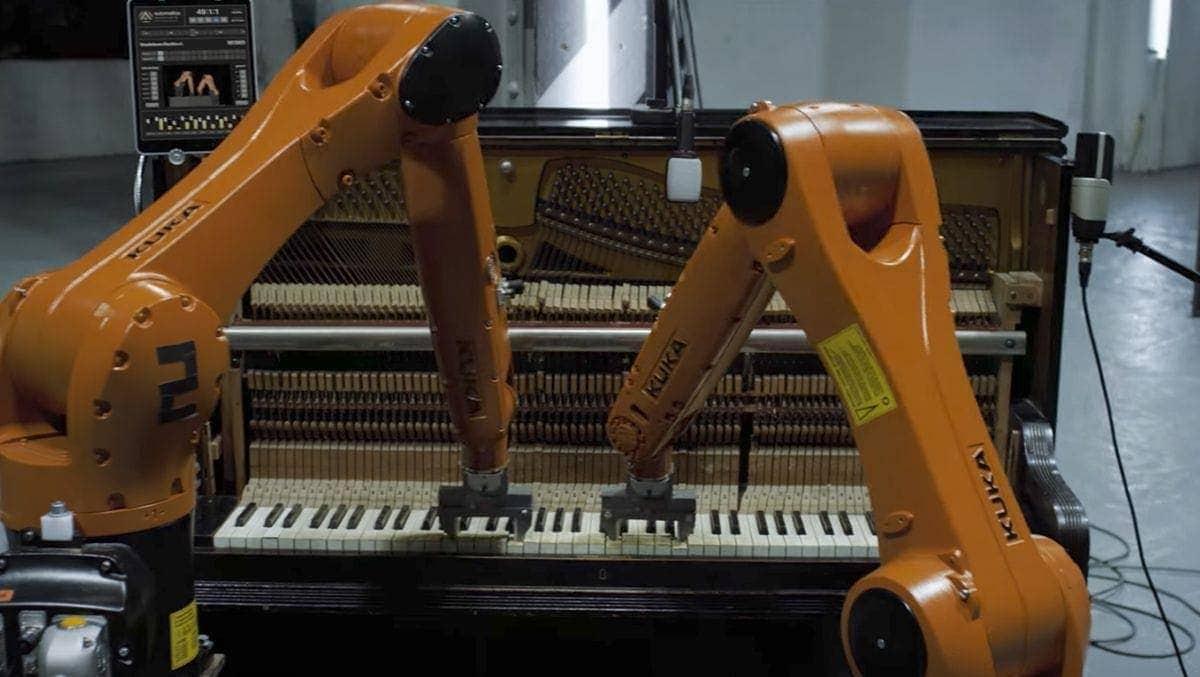 Nigel Stanford und seine Band aus Industrierobotern | Musik | Was is hier eigentlich los?
