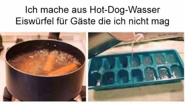 Wurstwassereiswürfel für besonders süße Rache | Lustiges | Was is hier eigentlich los? | wihel.de