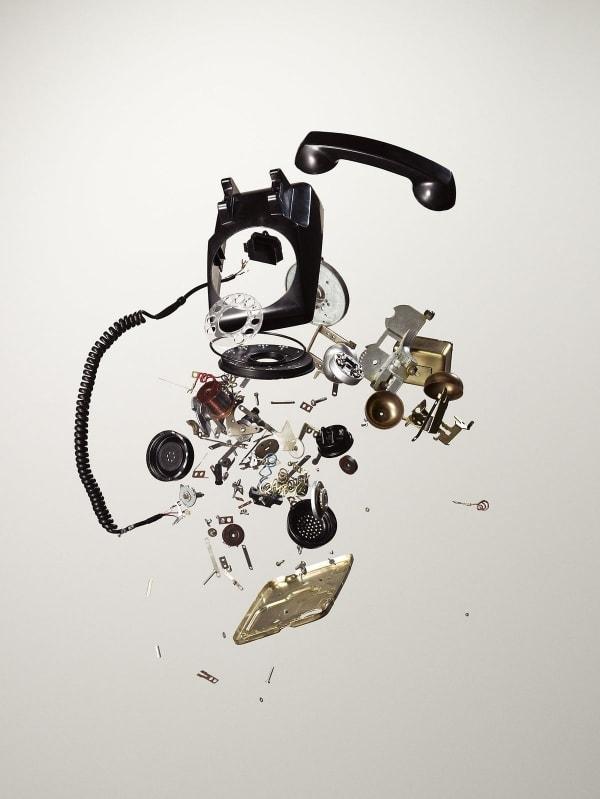 Auseinandergenommene Alltagsgegenstände von Todd McLellan | Fotografie | Was is hier eigentlich los? | wihel.de