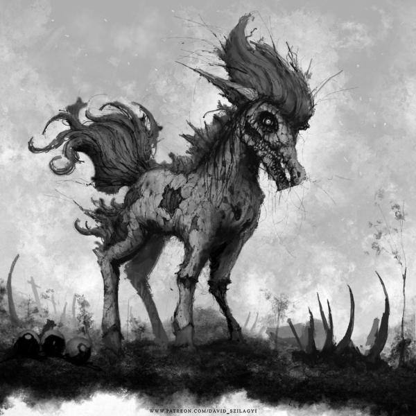 Creepy Pokemon von David Szilagyi | Design/Kunst | Was is hier eigentlich los? | wihel.de