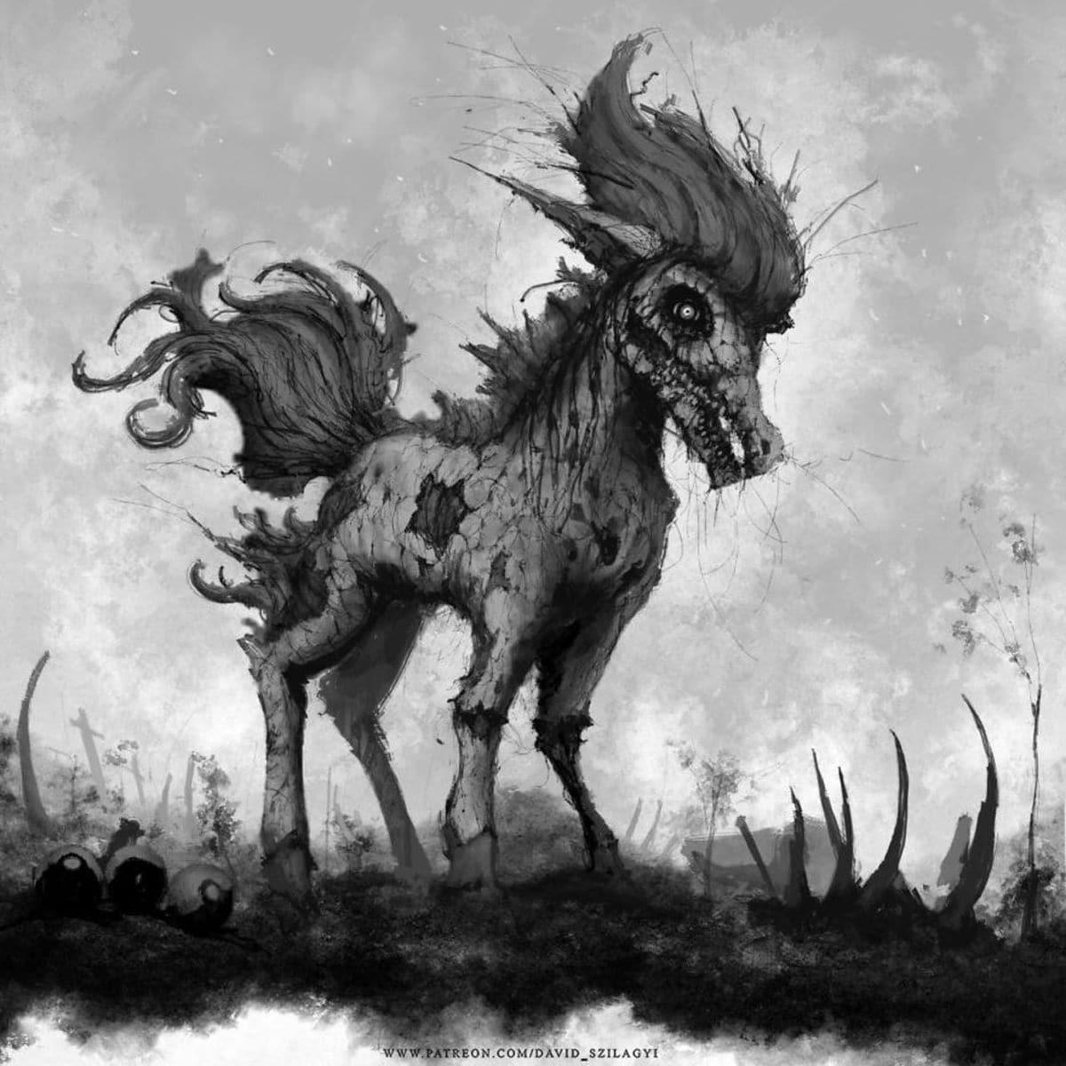 Creepy Pokemon von David Szilagyi | Design/Kunst | Was is hier eigentlich los?
