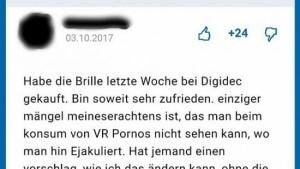 Das größte Problem bei VR-Pornos | Lustiges | Was is hier eigentlich los? | wihel.de