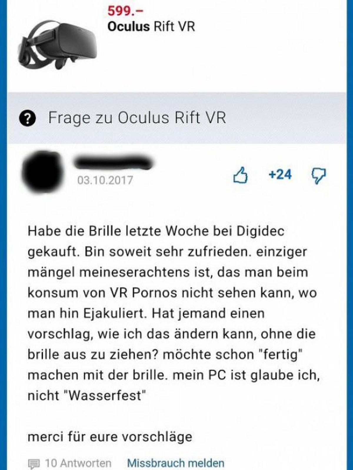 Das größte Problem bei VR-Pornos | Lustiges | Was is hier eigentlich los?