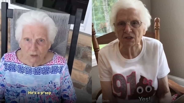 Die coolste Oma hat Ross Smith | Lustiges | Was is hier eigentlich los? | wihel.de