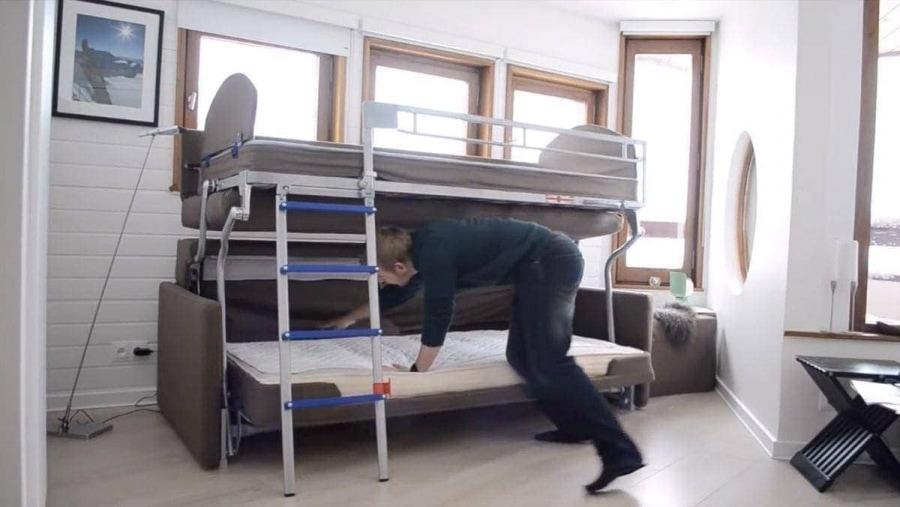 Ein Doppelstockbett-Sofa   Gadgets   Was is hier eigentlich los?
