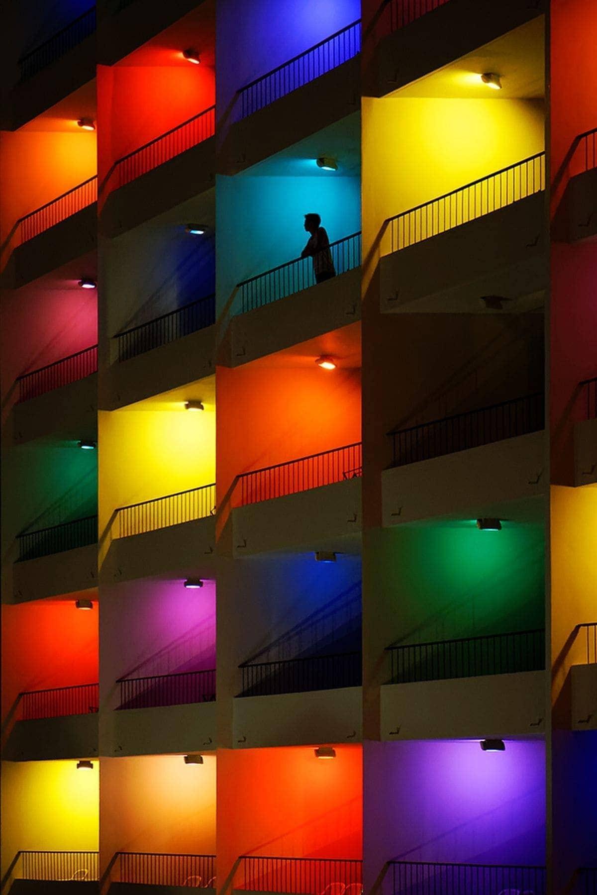 Farbenfrohe Nachtaufnahmen von Yann Lecoeur | Fotografie | Was is hier eigentlich los?