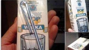 Für die Mittagspause: Vodka im Tetra-Pak | Lustiges | Was is hier eigentlich los? | wihel.de