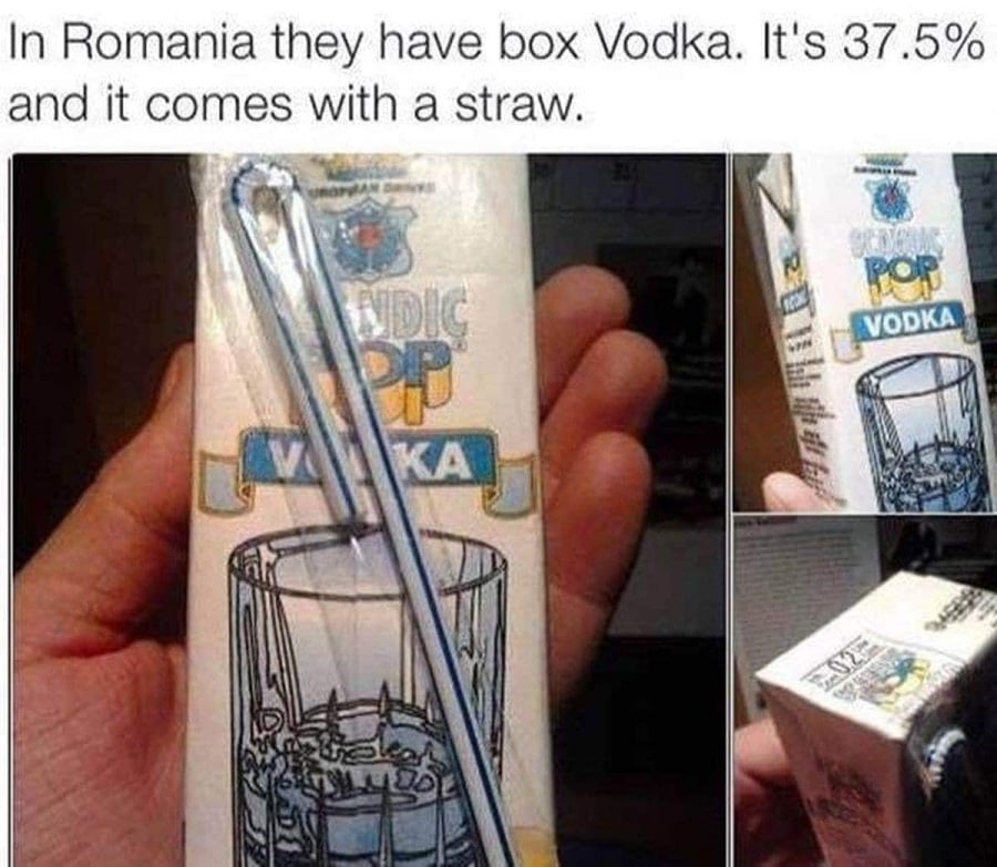 Für die Mittagspause: Vodka im Tetra-Pak | Lustiges | Was is hier eigentlich los?