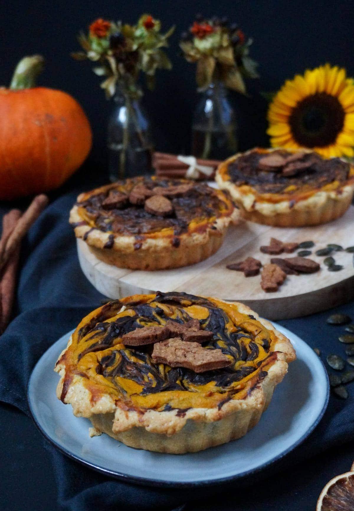 Line backt Pumpkin Pie mit Schokolade | Line backt | Was is hier eigentlich los?