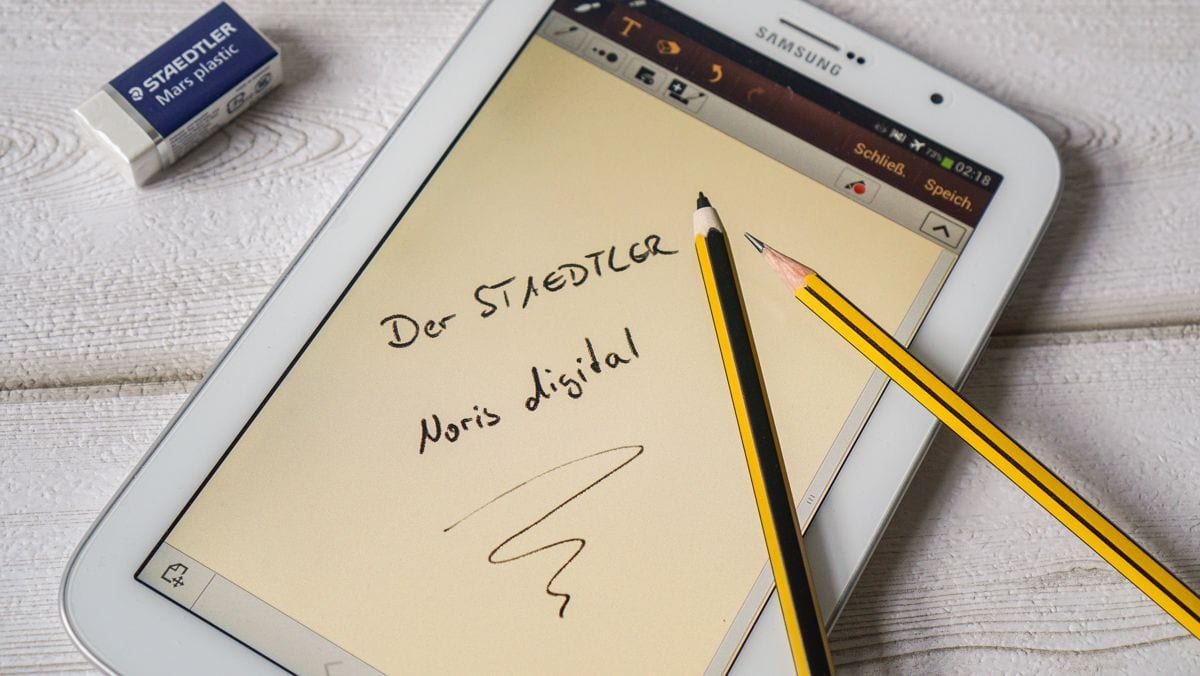 Auf Deinem Tablet oder Smartphone kritzeln mit dem neuen STAEDTLER Noris Digital | sponsored Posts | Was is hier eigentlich los?