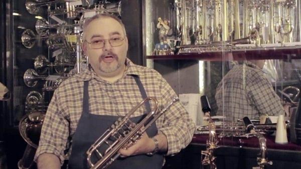 Der Trompetenbauer Frieder G. Löbner | Handwerk | Was is hier eigentlich los? | wihel.de