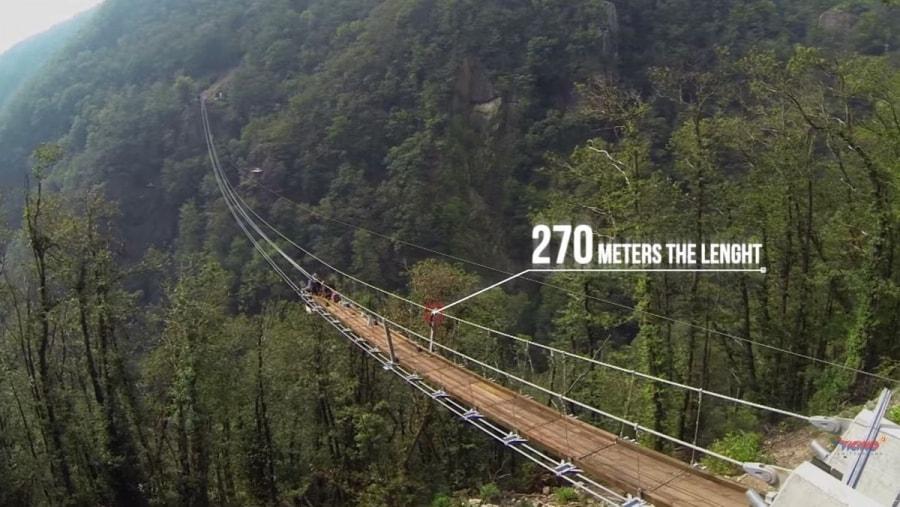 Die längste Hängeseilbrücke der Schweiz | Handwerk | Was is hier eigentlich los?