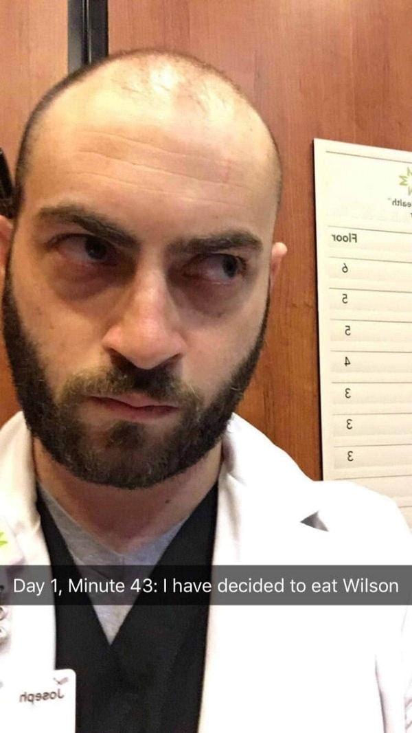 Ein Arzt bleibt im Fahrstuhl stecken und snapt die letzten Stunden seines Lebens | Lustiges | Was is hier eigentlich los? | wihel.de