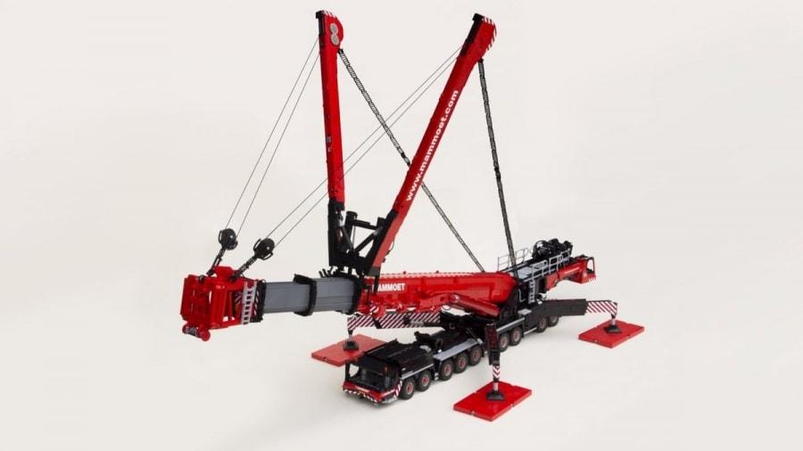 Ein LEGO Liebherr LTM 11200 Kran aus 20.000 Teilen | Gadgets | Was is hier eigentlich los?