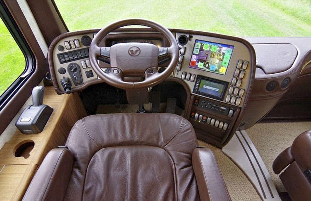 Ein Luxus-Wohnmobil mit eingebauter Garage für den Sportflitzer | Gadgets | Was is hier eigentlich los?