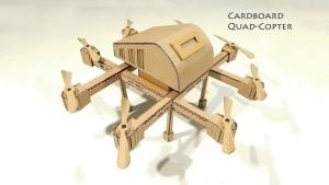 Eine Drohne aus Pappe gebaut | Gadgets | Was is hier eigentlich los? | wihel.de