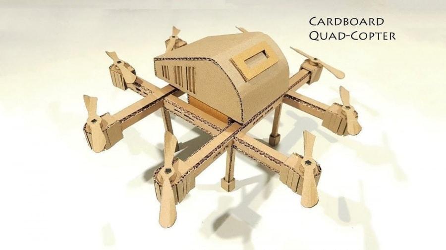 Eine Drohne aus Pappe gebaut | Gadgets | Was is hier eigentlich los?