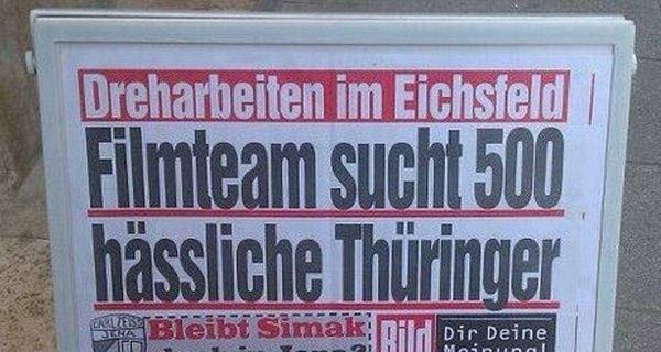 Hey Thüringen ... | Lustiges | Was is hier eigentlich los? | wihel.de