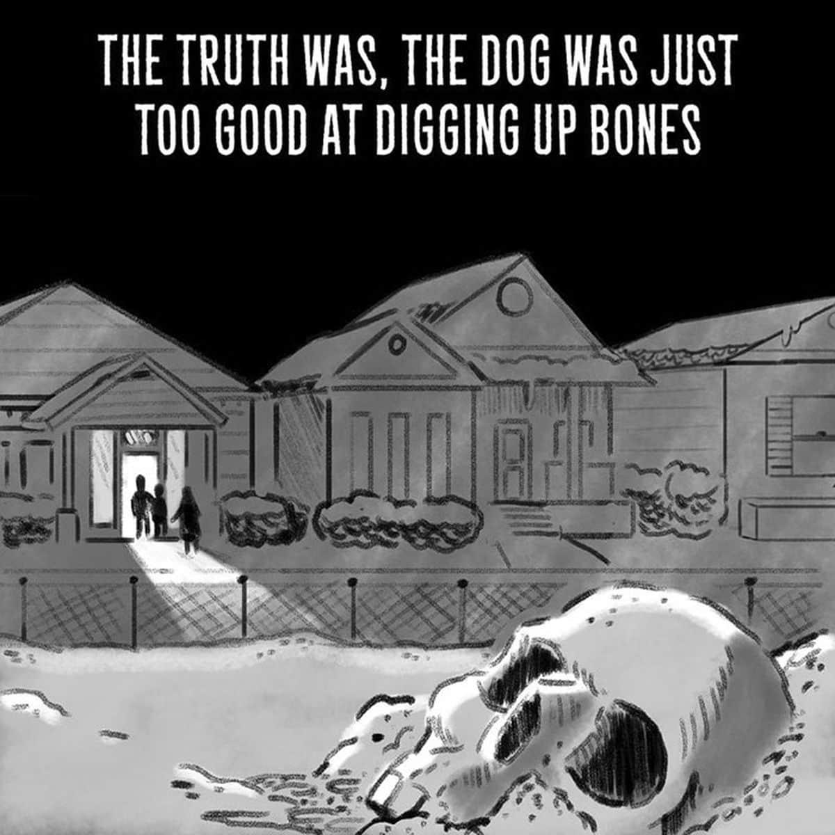 Horror-Stories in nur 2 Sätzen von Jacob Andrews | Design/Kunst | Was is hier eigentlich los?