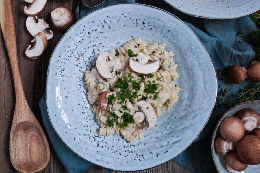 Line kocht Pasta in Trüffel-Pilz-Soße | Line kocht | Was is hier eigentlich los?