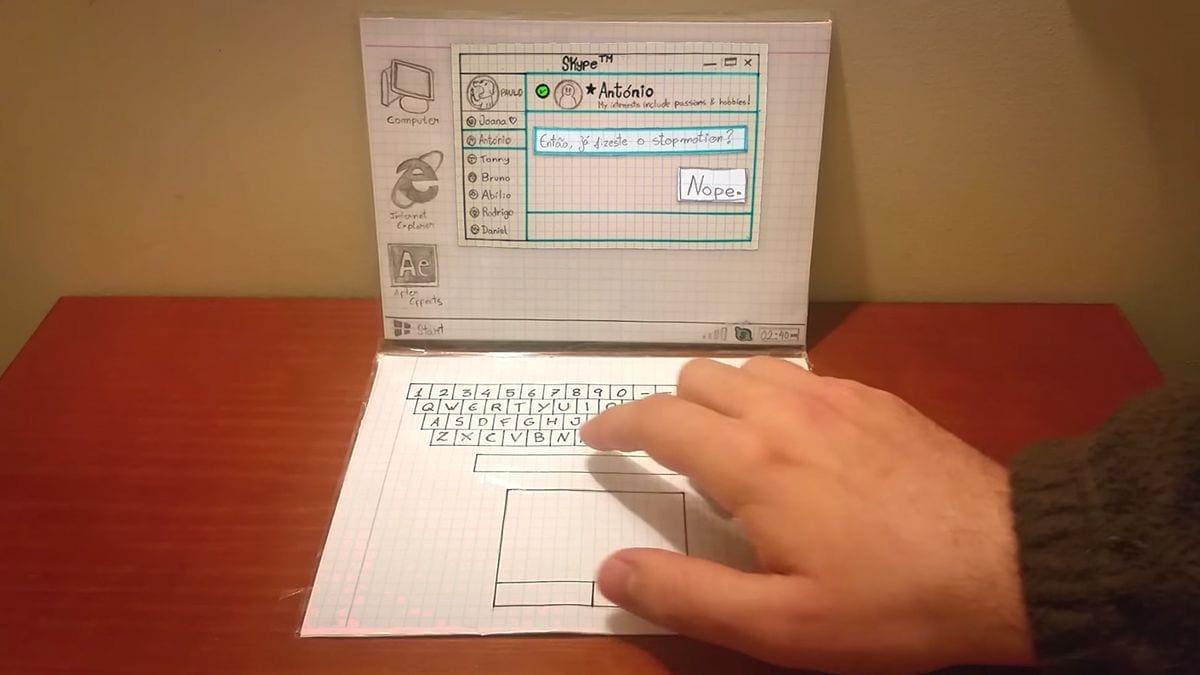 Nur ein Laptop aus Papier | Awesome | Was is hier eigentlich los?