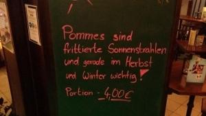 Pommes sind frittierte Sonnenstrahlen | Lustiges | Was is hier eigentlich los? | wihel.de