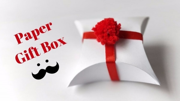 Schnell eine Geschenkverpackung aus Papier gebastelt | Handwerk | Was is hier eigentlich los? | wihel.de