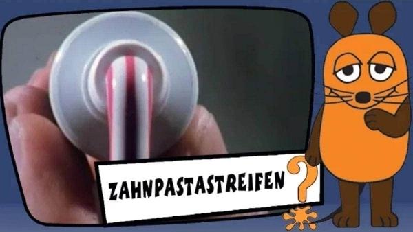 Wie die Streifen in die Zahnpasta kommen | Was gelernt | Was is hier eigentlich los? | wihel.de