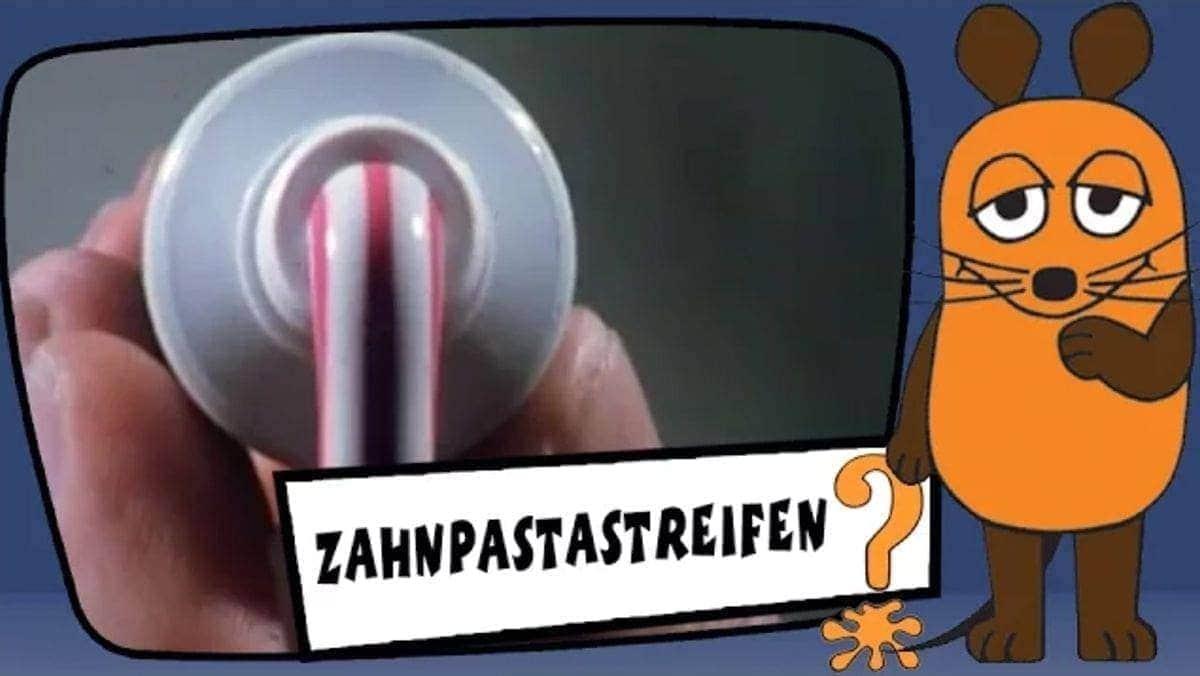 Wie die Streifen in die Zahnpasta kommen | Was gelernt | Was is hier eigentlich los?