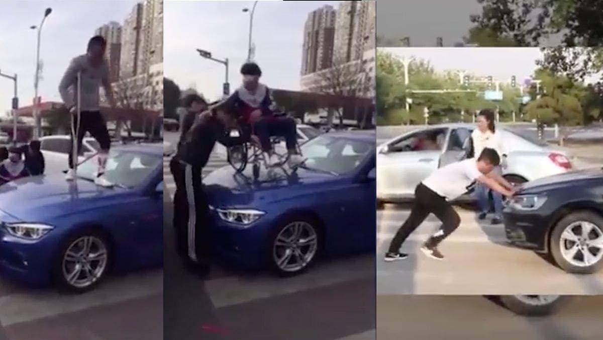 Wie man mit Autofahrern umgeht, die den Fußgängerüberweg blockieren | WTF | Was is hier eigentlich los?
