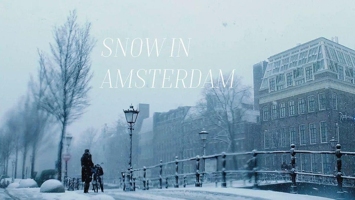 Amsterdam im Winter | Travel | Was is hier eigentlich los?