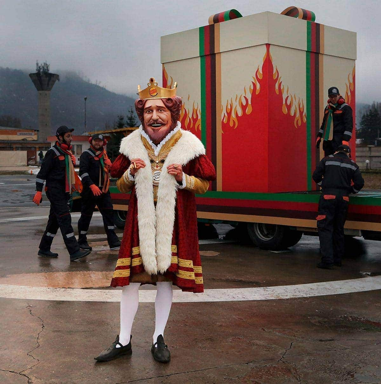 Besinnlichkeit zu Weihnachten: BURGER KING® beschenkt den Mitbewerber | sponsored Posts | Was is hier eigentlich los?