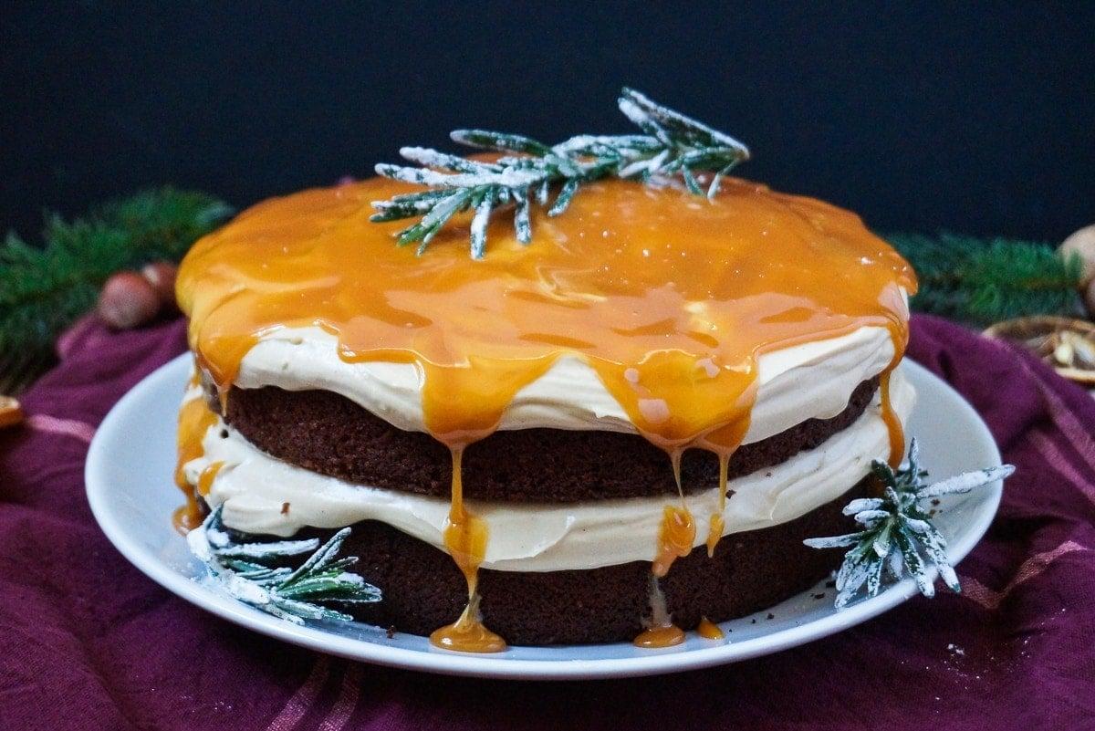 Line backt Lebkuchen-Torten mit Espresso-Zimt-Creme | Line backt | Was is hier eigentlich los?