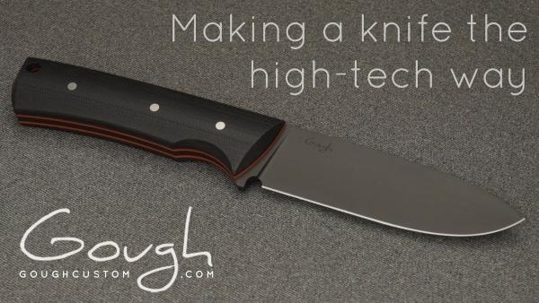 Unromantische Handwerkskunst: Ein Messer mit der CNC-Maschine hergestellt | Handwerk | Was is hier eigentlich los? | wihel.de