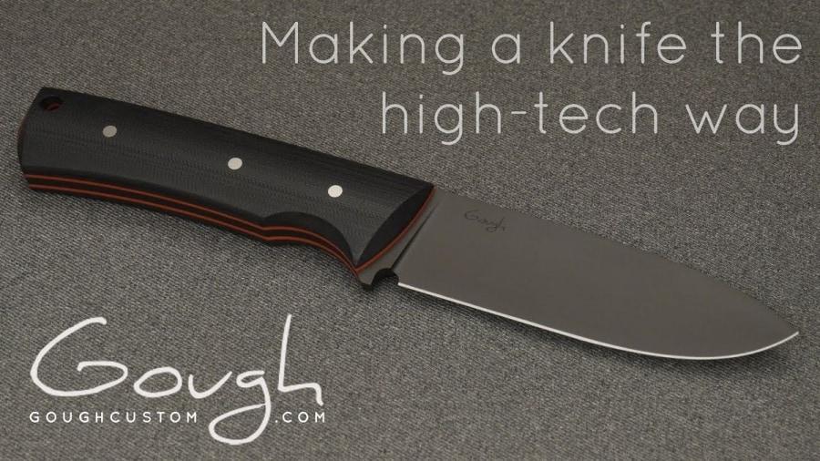 Unromantische Handwerkskunst: Ein Messer mit der CNC-Maschine hergestellt | Handwerk | Was is hier eigentlich los?
