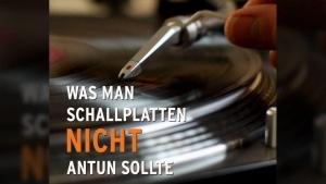 Was man Schallplatten nicht antun sollte | Lustiges | Was is hier eigentlich los? | wihel.de