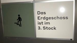 Wenn selbst Etagen nicht mehr da sind, wo sie mal waren | Lustiges | Was is hier eigentlich los? | wihel.de